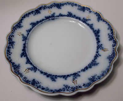 Grindley ALDINE (FLOW BLUE) Bread & Butter Plate