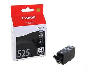 Genuine Canon PGi-525PGBK Black Pigmented Ink Tank MG5150 MG5250 MG5350, MG6150