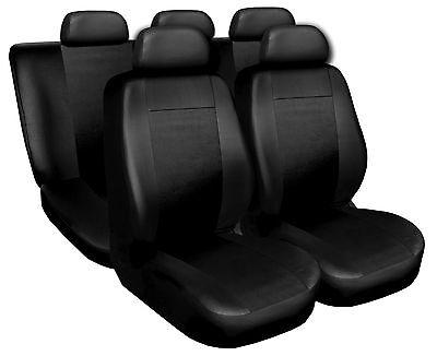 Coprisedili Copri Sedili Salva Sedili Eco Pelle Per Honda Civic nero