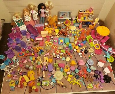 Polly Pocket Mini Barbie And Other Tiny Dolls Furniture And Accessories