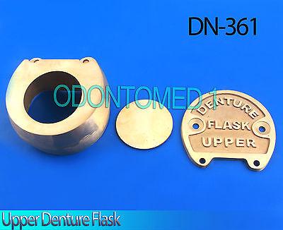 Dental Lab Copper Brass Denture Upper Flask Dn-361