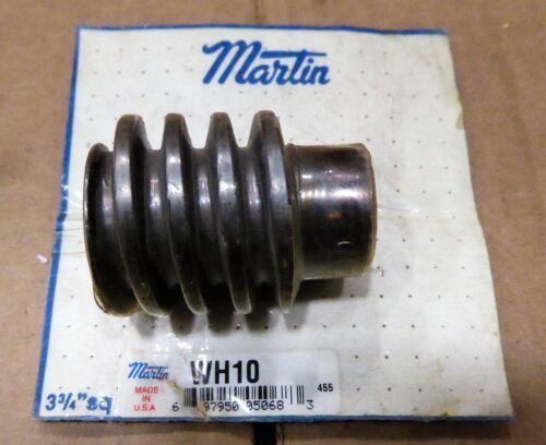 "Martin Worm Gear 5/8"" Bore 1.25"" PD  WH10"