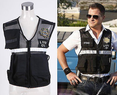 Vest of CSI Crime Scene Investigation Las Vegas Costume Cosplay Halloween - Crime Scene Halloween