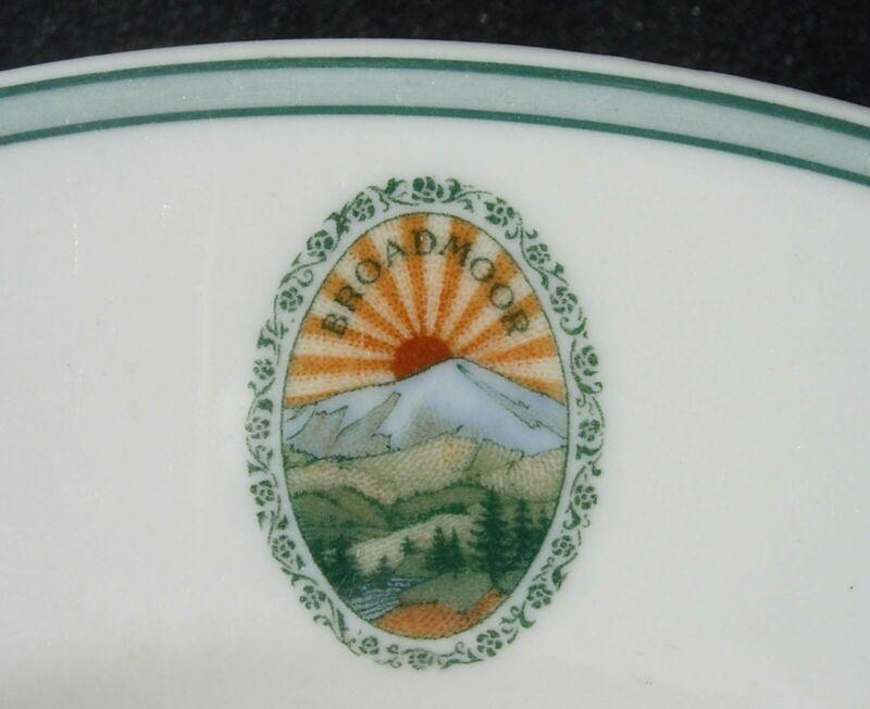 the Broadmoor Colorado Springs Rimmed Soup 1924 Syracuse
