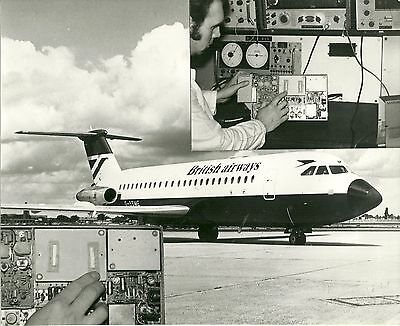 Braniff International Bac 1-11 N1547 Vintage Photograph Prints/ Photographs