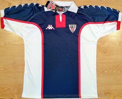 Camiseta Athletic Club Bilbao Nueva Kappa 98-99 Shirt Trikot Maillot Maglia BNWT