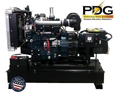 45kw Diesel Generator Kubota - 50 Gallon Fuel Tank 1 Phase Emergency Standby
