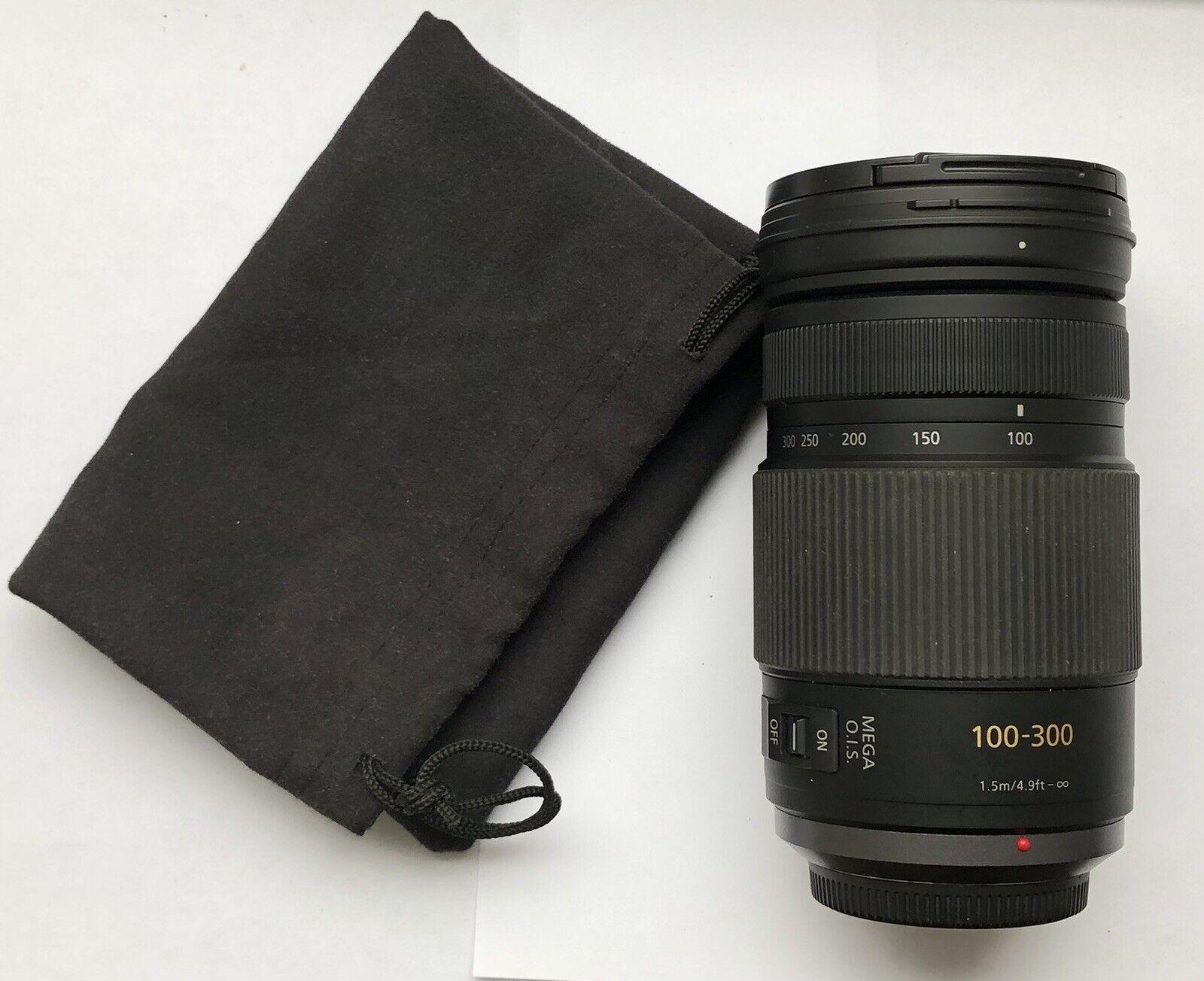Panasonic LUMIX G VARIO 100-300mm F4.0-5.6 MEGA O.I.S H-FS100300 - $300.00