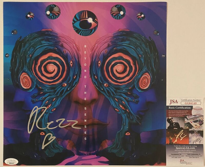 Rezz Signed Autographed Beyond The Senses 12x12 Photo (Vinyl Size) EDM JSA COA