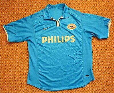 2002 - 2003 PSV Eindhoven, Away football Shirt by Nike, Mens XL image