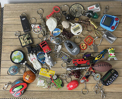 Vintage Keychain Lot Set Miscellaneous This And That Blowout Sale 44+ Free Ship