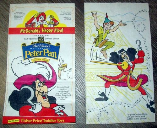 Peter Pan 45th Ann.- On Video - McDonald