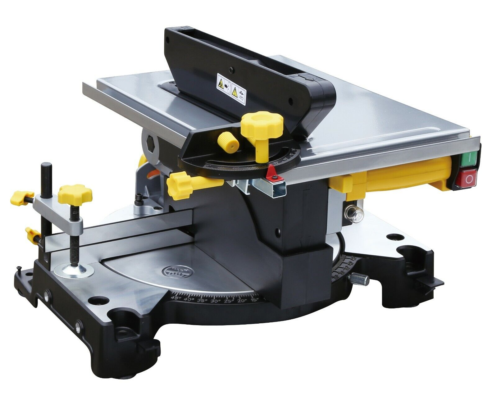 Details About Pro Mitre Saw Table Combo Electric Bench Drop Extension 210mm 2 In 1