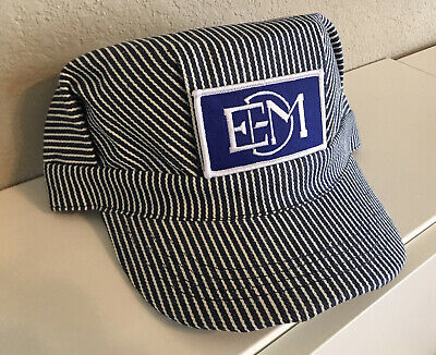 Adult Conductor Hat (Engineer/Conductor Cap /Hat-Electro Motive EMD - adjustable -Adult or Child-NEW)