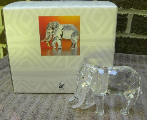 SWAROVSKI CRYSTAL Glass Figurine SCS 1993 INSPIRATION AFRICA Elephant with Box