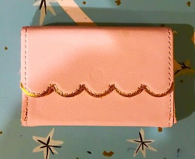 Stocking Stuffer Business Card Holder Available In Pink Or Black