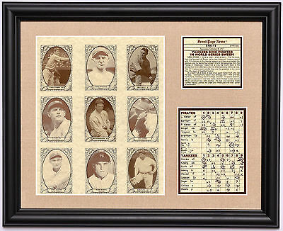 b5ba542a4 1927 New York Yankees Murderer's Row World Series Champions framed photo  tribute