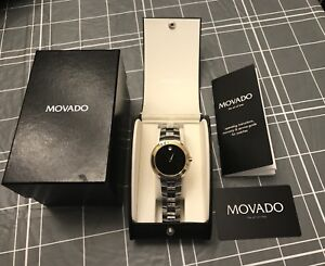 Movado Museum Sapphire Crystal Two-Tone Men's Watch