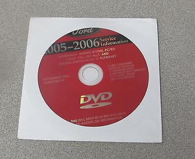2005 2006 Ford F 150 F 250 F 350 Super Duty Truck Dvd Service Manual