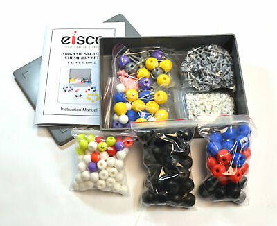 Eisco Labs Molecular Model Set - Organic Stereo Chemistry - 365 Pieces