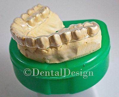 Professional Custom THIN HARD Night Guard Grinding Clenching Dental Bruxism