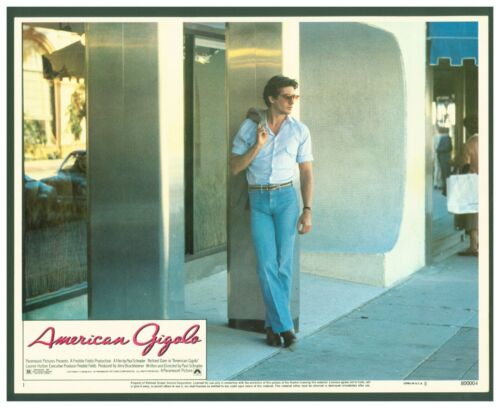 4 Vintage 1980 American Gigolo Lobby Cards   Richard Gere & Lauren Hutton