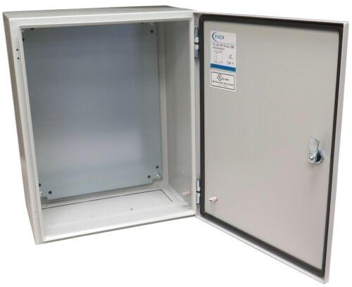 YuCo YC-20x16x10-UL Electrical Box IP66 Nema 4 Enclosure Gland (Screw) Plate