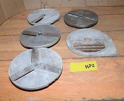 5 Hobart Pelican Slicer Blade Head 8 Aluminum Vegetable Wheel Shredder Lot Hp2