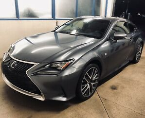 Lexus RC 350 AWD F-Sport 2 package (Fully Loaded).