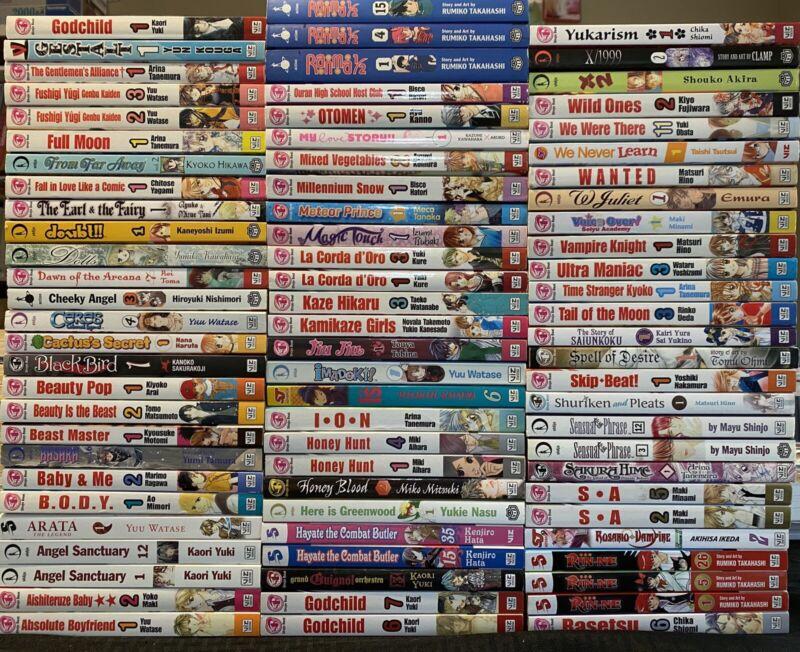 Mixed Manga Lot $5.99 Each Assorted Shojo Beat Romance From Far Away English