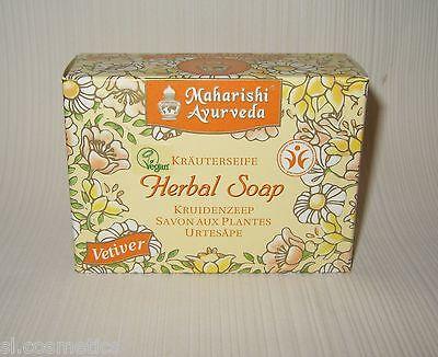 Körperpflege-gesicht (Maharishi Ayurveda  Kräuter Seife  VETIVER 100g  Körperpflege Gesichtspflege NEU)