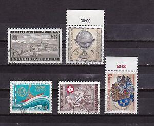 Österreich 1977: Sondermarken Michel aus 1553-1557 gestempelt - Klagenfurt-Viktring, Österreich - Österreich 1977: Sondermarken Michel aus 1553-1557 gestempelt - Klagenfurt-Viktring, Österreich