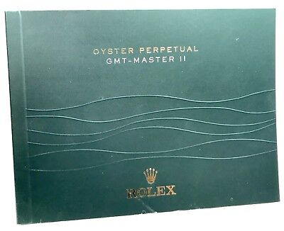 ROLEX Oyster Perpetual GMT - Master II Booklet 2013 116710 BLNR 116713 116718 LN