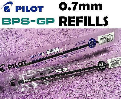 10x Pilot Bps Gp Refills Blue Black Red Pen 0.7mm Fine Choose Color Rfj-gp-f New