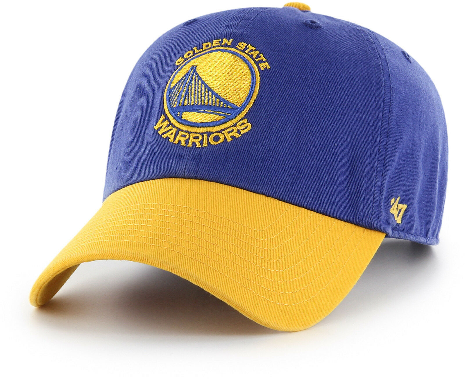 reputable site 2fa7d 96d40 Golden State Warriors  47 Brand Two Tone Clean Up Adjustable