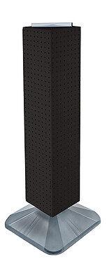 Black Interlocking Pegboard Display Counter Unit 8w X 40h Inches
