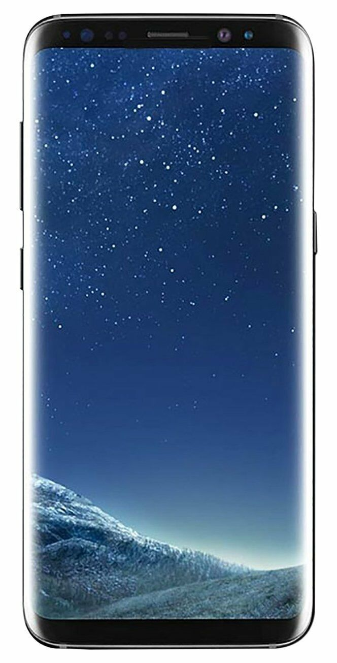Samsung Galaxy S8 SM-G950U - 64GB - Midnight Black  Smartpho