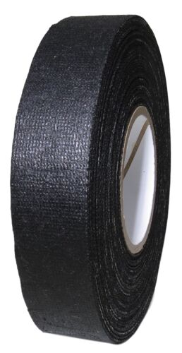 "T.R.U. Black Cotton Friction Tape Non-Corrosive Rubber Adhesive. 1.5"" X 60 Ft."