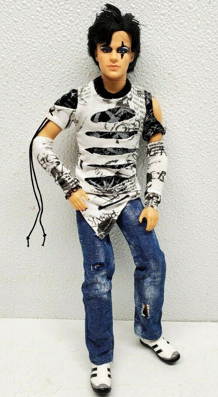 Adam Ready To Go Adam Lambert OOAK Celebrity Doll Fully Articulated  - $89.95