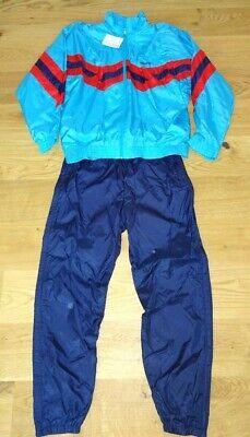 Nylon Trainings-anzug (Vintage Nylon Adidas Trainingsanzug Jogginganzug - 80er / 90er  D8 - XL - NEU)