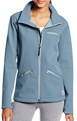 (Carhartt Women's Crowley Soft Shell Jacket ~ Teal ~ New With Tags!)