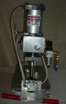 Brand New Inline Pie Press. Includes Dies To Form Any Pie Shell Up To 8