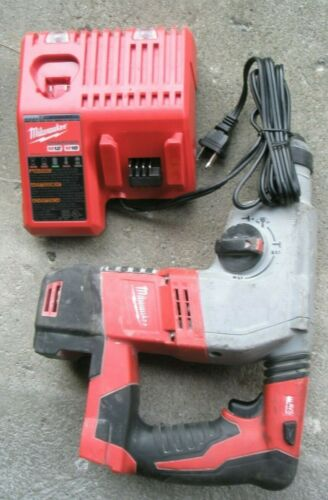 Milwaukee 18v Model 2605-20 Rotary Hammer No battery, NEW Charger TESTED