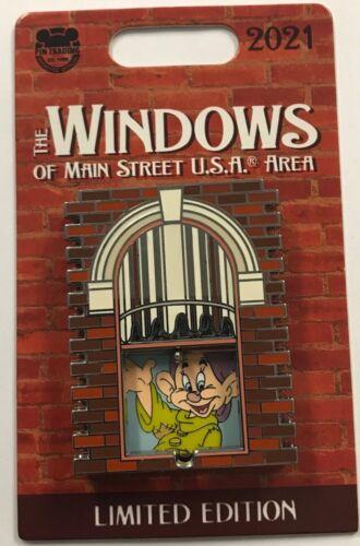 Disney Parks Windows of Main Street USA Ken Anderson Bait Co. Dopey LE Pin