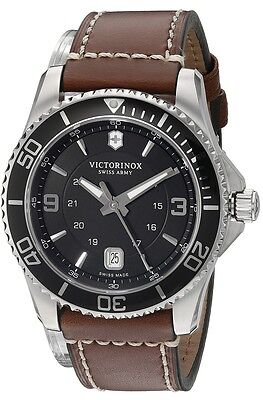Swiss Army Victorinox Maverick Leather Mens Make eyes at look for 249107