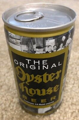 The Original Oyster House 12 oz Strong Empty Steel Beer Can