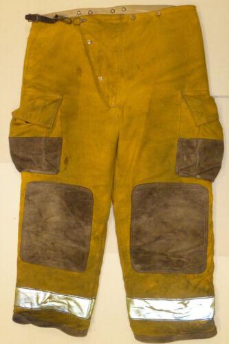 46x30 Globe Fire Wear Yellow Firefighter Pants Bunker Turnout  P872