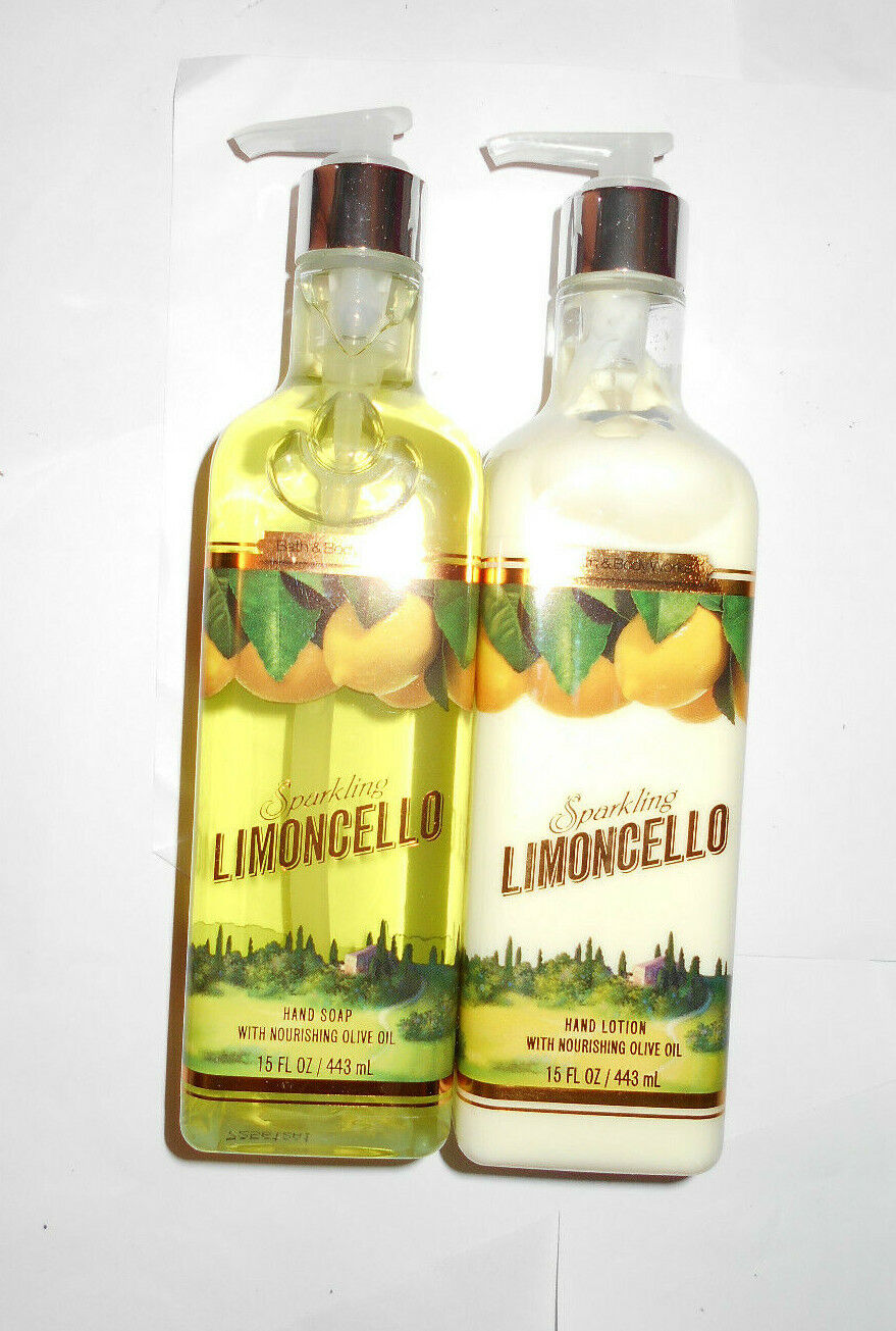 Bath & Body Works Luxe SPARKLING LIMONCELLO Hand Soap Lotion