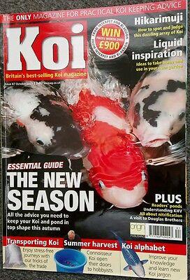KOI MAGAZINE ~ OCTOBER 2005 ~ ISSUE 87