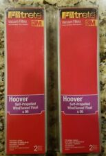 FILTRETE VACUUM FILTERS HOOVER SELF-PROPELLED WINDTUNNEL FINAL /& 06 NEW 64804A